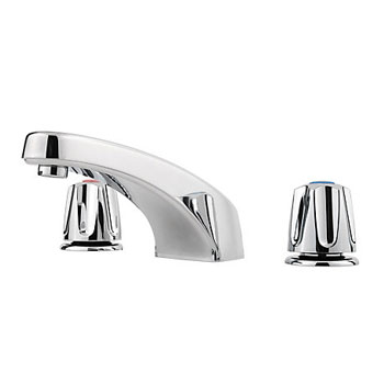 Price 1T6-4100 Pfirst Series Roman Tub Trim with Knob Handles - Chrome