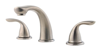Price Pfister 1T6510K Pfirst Series Roman Tub Filler Faucet Trim - Brushed Nickel