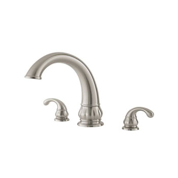 Pfister 806-DK11 Treviso 3-Hole Roman Tub Faucet - Brushed Nickel