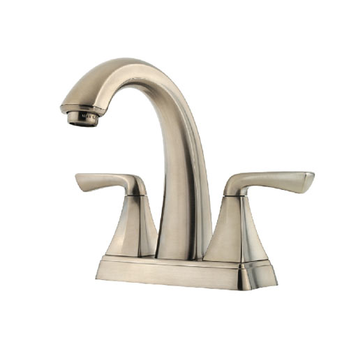 Pfister F-048-SLKK Selia Two Handle Centerset Lavatory Faucet - Brushed Nickel
