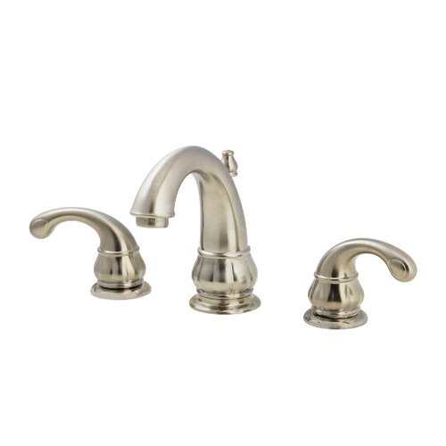 Pfister F-049-DK00 Treviso 3 Hole Widespread Lavatory Faucet - Brushed Nickel