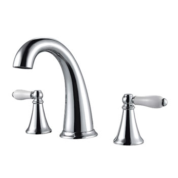 Pfister F-049-KYCC Kaylon Two Handle Widespread Lavatory Faucet - Chrome