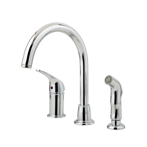 Pfister F Wk1 680c Cagney Single Handle Kitchen Faucet