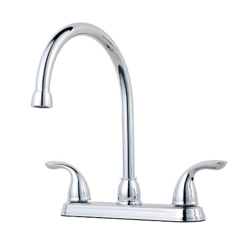 Pfister G136-2000 Pfirst Series Two Handle Kitchen Faucet - Chrome