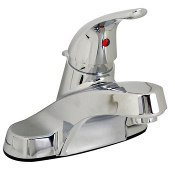 Pfister G142-8000 3-Hole Centerset Lavatory Faucet with Pop Up - Chrome