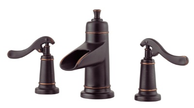 Price Pfister GT49-YP1Y Ashfield Widespread Lavatory Faucet - Tuscan Bronze