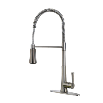 Pfister GT529-MCS Zuri Culinary Kitchen Faucet - Stainless Steel
