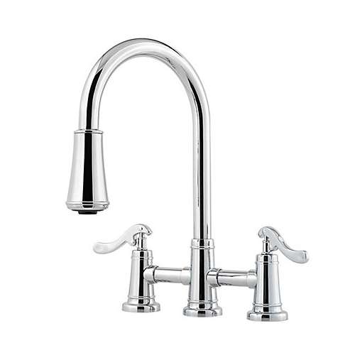 Pfister Lg531 Ypc Ashfield Pull Down Kitchen Faucet Chrome