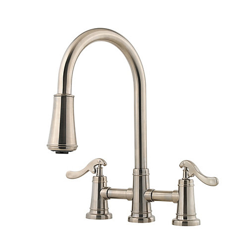 Pfister GT531-YPK Ashfield Pull-Down Kitchen Faucet Brushed Nickel
