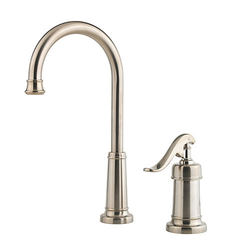 Pfister LG72-YP2K Ashfield Single Handle Bar/Prep Faucet - Brushed Nickel