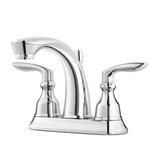 Pfister LG48-CB1C Avalon Two Handle Centerset Bath Faucet - Chrome