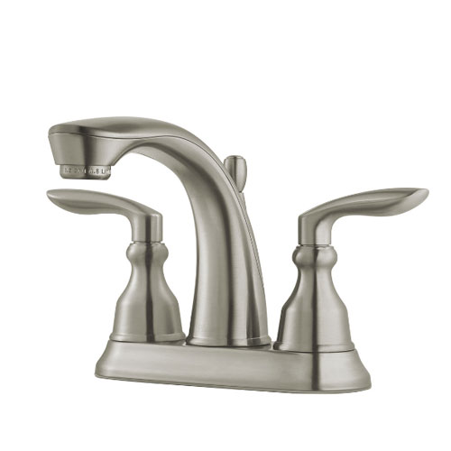Pfister LG48-CB1K Avalon Two Handle Centerset Bath Faucet - Brushed Nickel