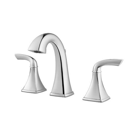 Pfister LG49-BS0C Bronson Two Handle Widespread Bath Faucet - Chrome