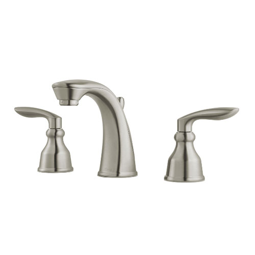 Pfister LG49-CB1K Avalon Two Handle Widespread Lavatory Faucet - Brushed Nickel