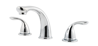 Price Pfister 1T6-5100 Pfirst Series Roman Tub Filler Faucet Trim - Polished Chrome