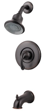 Price Pfister 808-DY00 Treviso Single Handle Tub and Shower Trim - Tuscon Bronze