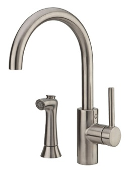 Price Pfister F0294SLS Solo Kitchen Faucet with Sidespray - Stainless Steel