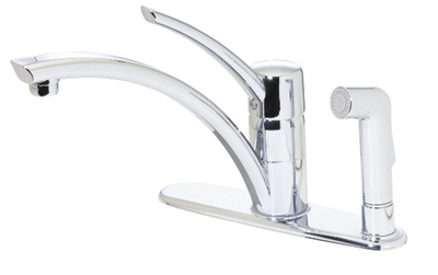 Price Pfister GT34-3NCC Parisa Kitchen Faucet with Sidespray - Polished Chrome