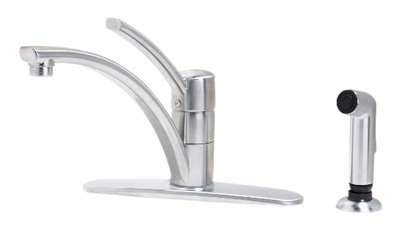 Price Pfister GT34-4NSS Parisa Kitchen Faucet with Sidespray - Stainless Steel