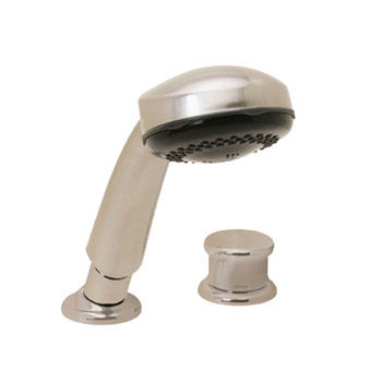 Price Pfister R15-407K Roman Tub Hand Held Shower Kit with Diverter Brushed Nickel