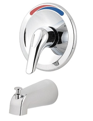 Price Pfister R890100 Pfirst Series Single Handle Tub Filler - Polished Chrome