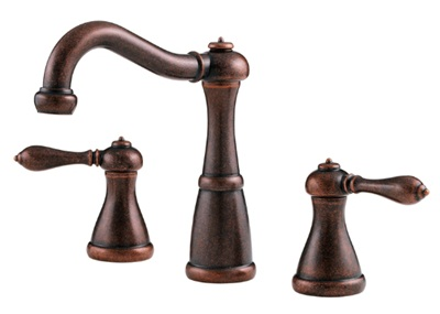 Price Pfister GT49M0BU Marielle Lavatory Widespread Faucet - Rustic Bronze