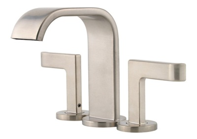 Price Pfister 046SYKK Skye 3-Hole Centerset Lavatory Faucet - Brushed Nickel