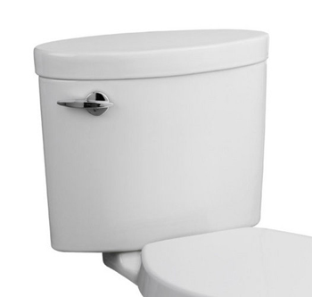 Porcher 40750-60 Ovale 1.6 GPF Toilet Tank Only - Biscuit (Pictured in White)