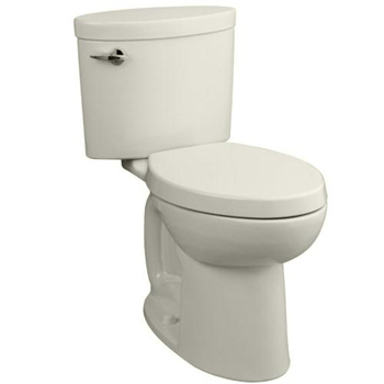 Porcher 41750-00 Ovale Elongated Toilet Bowl Only - Biscuit