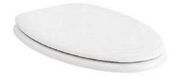 Porcher 70020-00.018 Elongated Toilet Seat - Mexican Stone (Pictured in White)