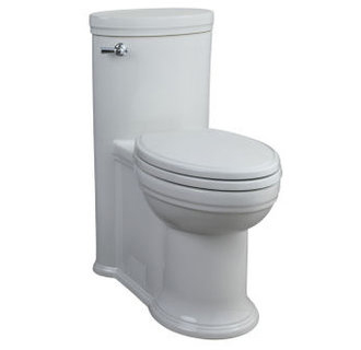 Porcher 97920-60 Archive 1.6 GPF One-Piece Elongated Toilet - White
