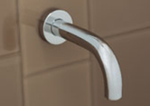 Porcher 5450105.002 Alfiere/Chipperfield Tub Spout Polished Chrome