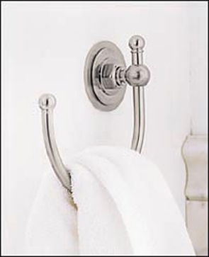 Porcher 5535190.099 Reprise Towel Ring Polished Brass PVD (Pictured in Polished Chrome)
