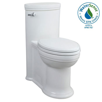 Porcher 97920-28.001 Archive Elongated High Efficiency 1 Piece Toilet - White