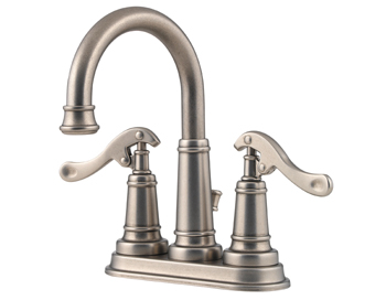 Price Pfister 43-YP0E Ashfield Two Handle Centerset Lavatory Faucet Rustic Pewter