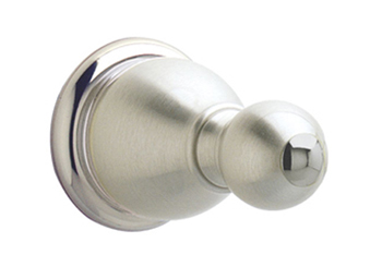 Price Pfister BRH-C0KK Carmel Robe Hook Brushed Nickel (Pictured in Brushed Nickel/Chrome)