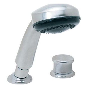 Price Pfister R15-407E Roman Tub Hand Held Shower Kit with Diverter Rustic Pewter (Pictured in Chrome)
