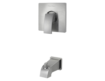 Price Pfister R89-5DFK Kenzo Single Handle Tub Trim Brushed Nickel