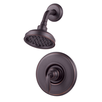 price pfister r89 7cby avalon single handle shower trim tuscan bronze. Black Bedroom Furniture Sets. Home Design Ideas