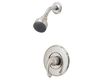Price Pfister R89-7DK0 Treviso Single Handle Shower Trim Brushed Nickel
