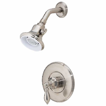 Price Pfister R89-7EBK Catalina Single Handle Shower Trim Brushed Nickel