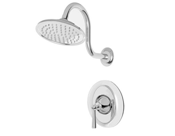 Price Pfister R89-7GLC Saxton Single Handle Shower Trim Chrome