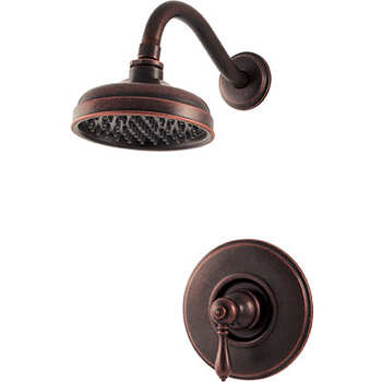 Price Pfister R89-7MBU Marielle Single Handle Shower Trim Rustic Bronze