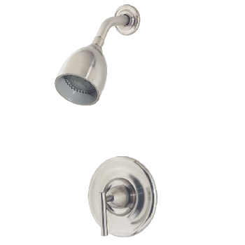 Price Pfister R89-7NK0 Contempra Single Handle Shower Trim Brushed Nickel