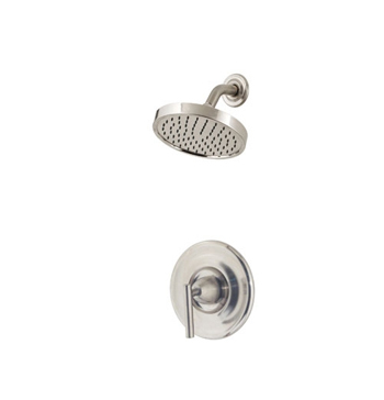 Price Pfister R89 7NK1 Contempra Single Handle Shower Trim Brushed Nickel. Price Pfister R89 7NK1 Contempra Single Handle Shower Trim Brushed