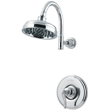 Price Pfister R89-7YPC Ashfield Single Handle Shower Trim Chrome