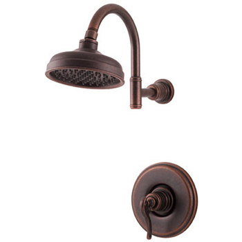 Price Pfister R89-7YPU Ashfield Single Handle Shower Trim Rustic Bronze
