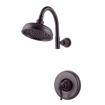 Price Pfister R89-7YPY Ashfield Single Handle Shower Trim Tuscan Bronze