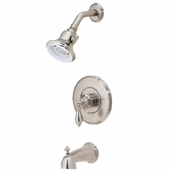 Price Pfister R89-8EBK Catalina Single Handle Tub/Shower Trim Brushed Nickel