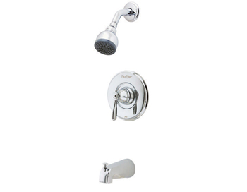 Price Pfister R89-8PC0 Portland Single Handle Tub/Shower Trim Chrome